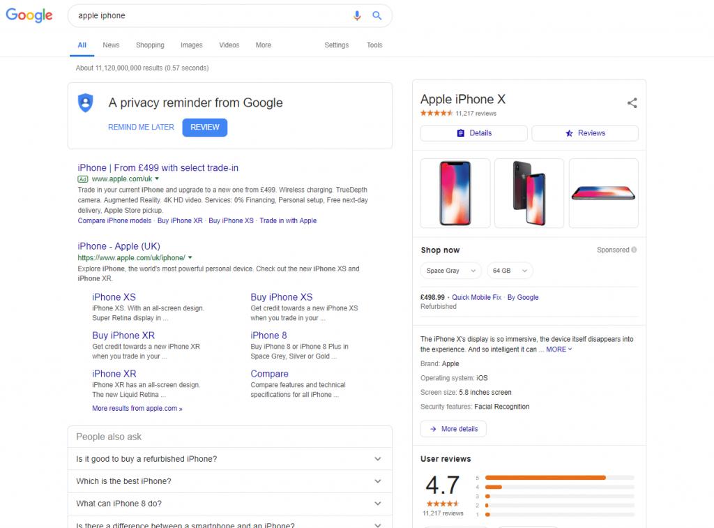 Growth Optimisation Marlow Google SEO results
