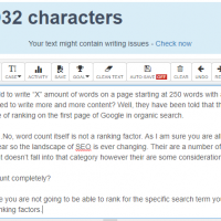 Word Count SEO